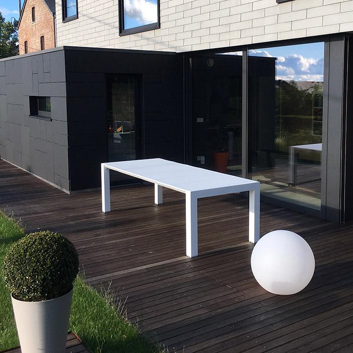 Table de jardin ELASTIK - Alterego Design - Photo 2