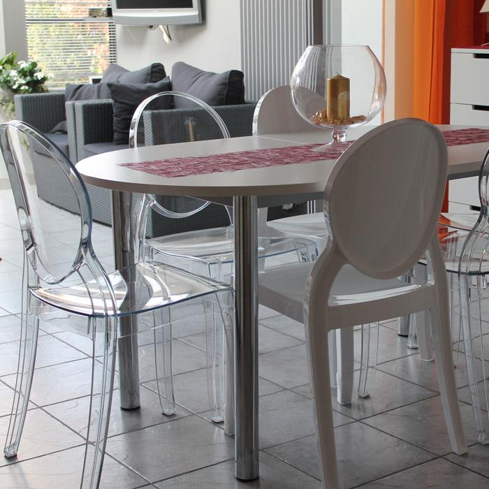 Chaise médaillon ELIZA - Alterego Design - Photo 9