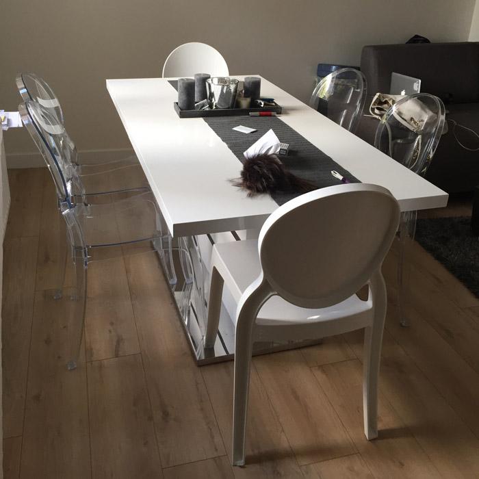 Chaise médaillon ELIZA - Alterego Design - Photo 1
