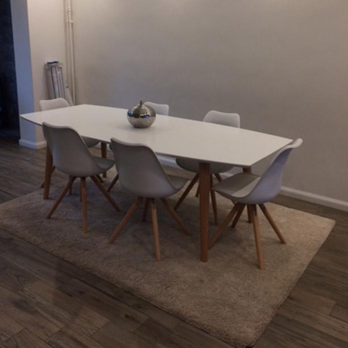 Table scandinave ESKIMO - Alterego Design - Photo 4