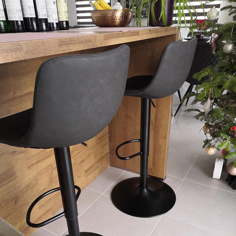 Verstelbare kruk GARRY - Alterego Design - Foto 2