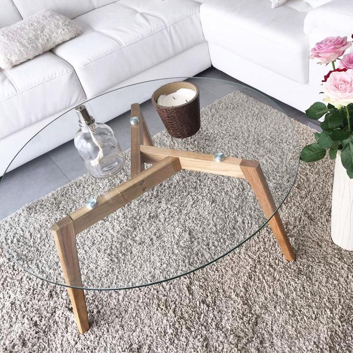 Design lage salontafel GLAZY - Alterego Design - Foto 4