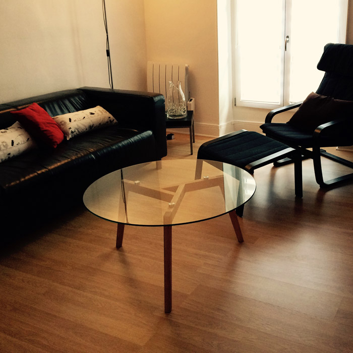Design lage salontafel GLAZY - Alterego Design - Foto 5