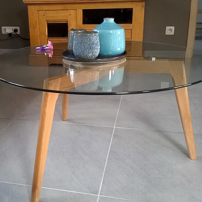 Design lage salontafel GLAZY - Alterego Design - Foto 6