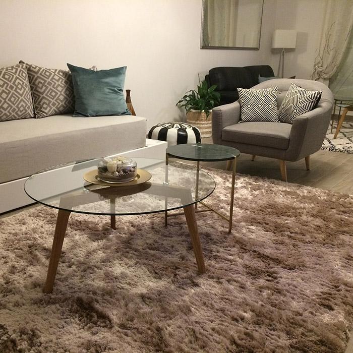 Design lage salontafel GLAZY - Alterego Design - Foto 8