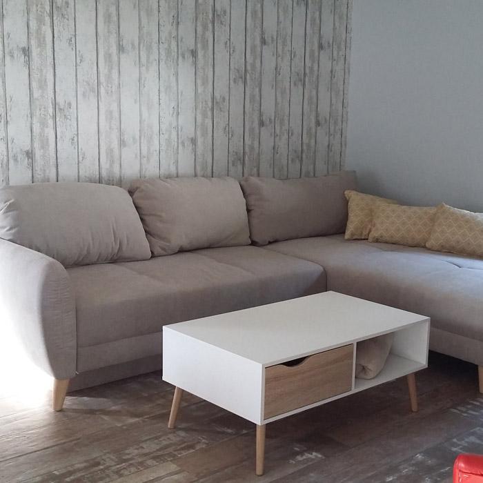 Canapé d'angle JOSEF - Alterego Design - Photo 1
