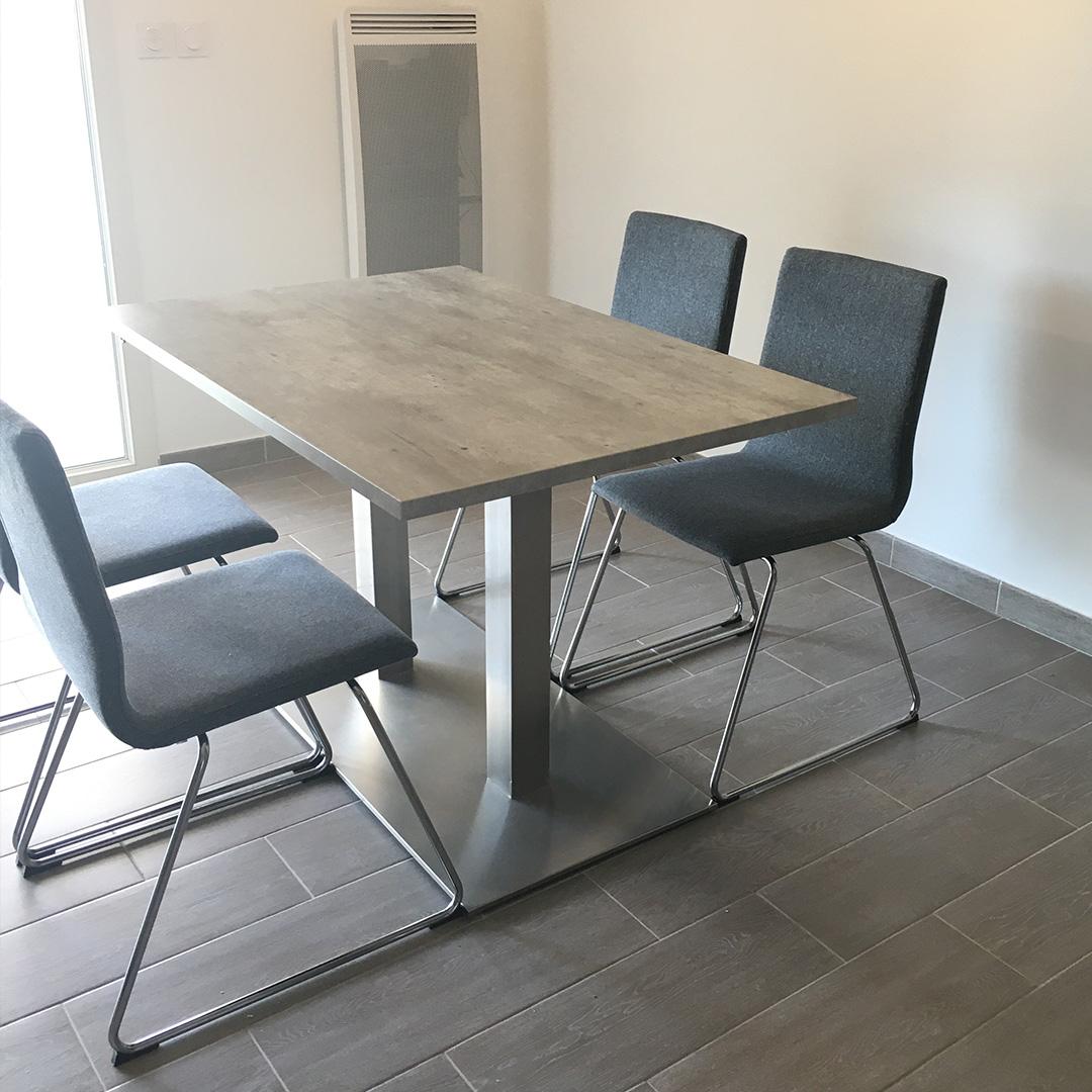 Pied de table KARO DOUBLE 75 - Alterego Design - Photo 1