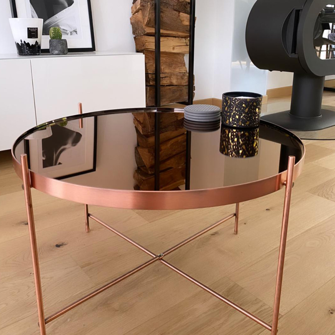 Design lage salontafel KOLOS MEDIUM - Alterego Design - Foto 4