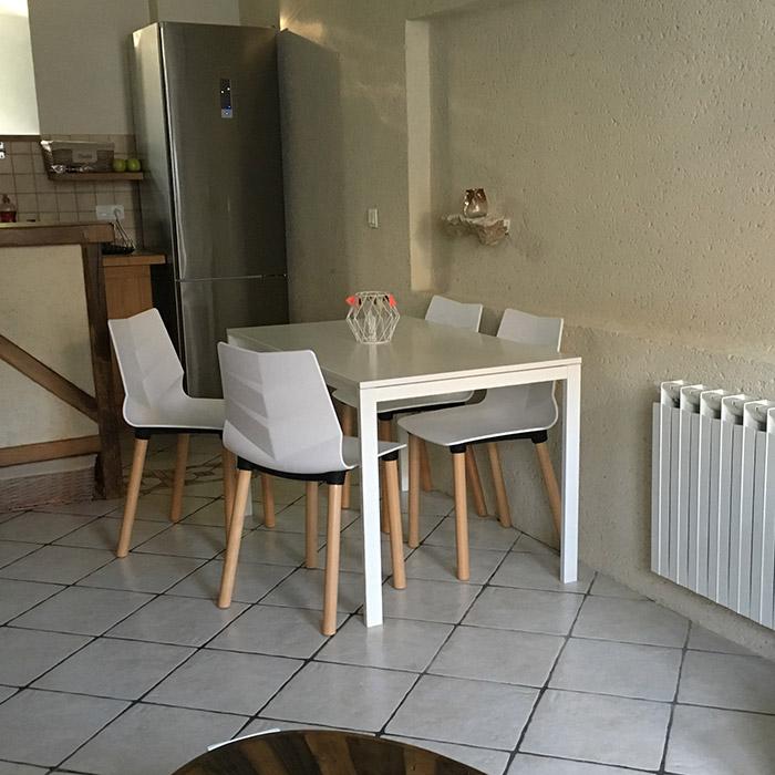 Chaise scandinave KORIDA - Alterego Design - Photo 1