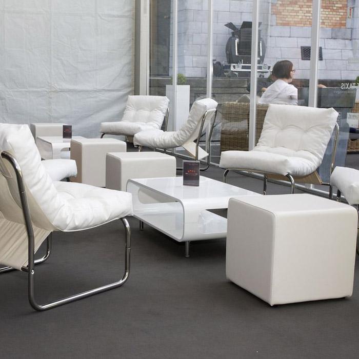 Pouf de salon CUBE - Alterego Design - Photo 2