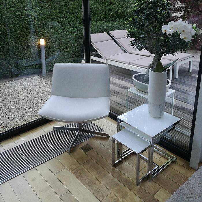 Fauteuil design cuir MACAO - Alterego Design - Photo 1