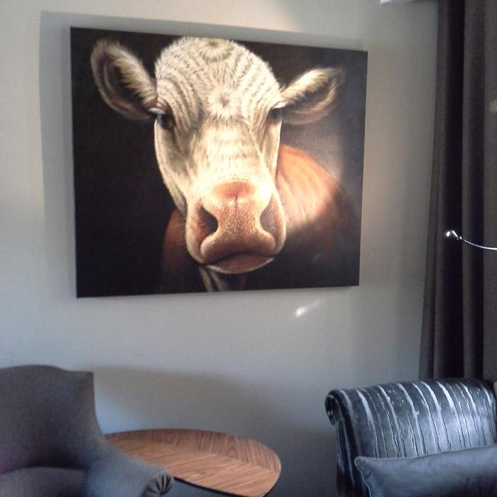 MEUUUH schilderij - Alterego Design - Foto 1