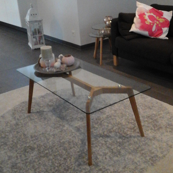 Table basse de salon MOLY - Alterego Design - Photo 1
