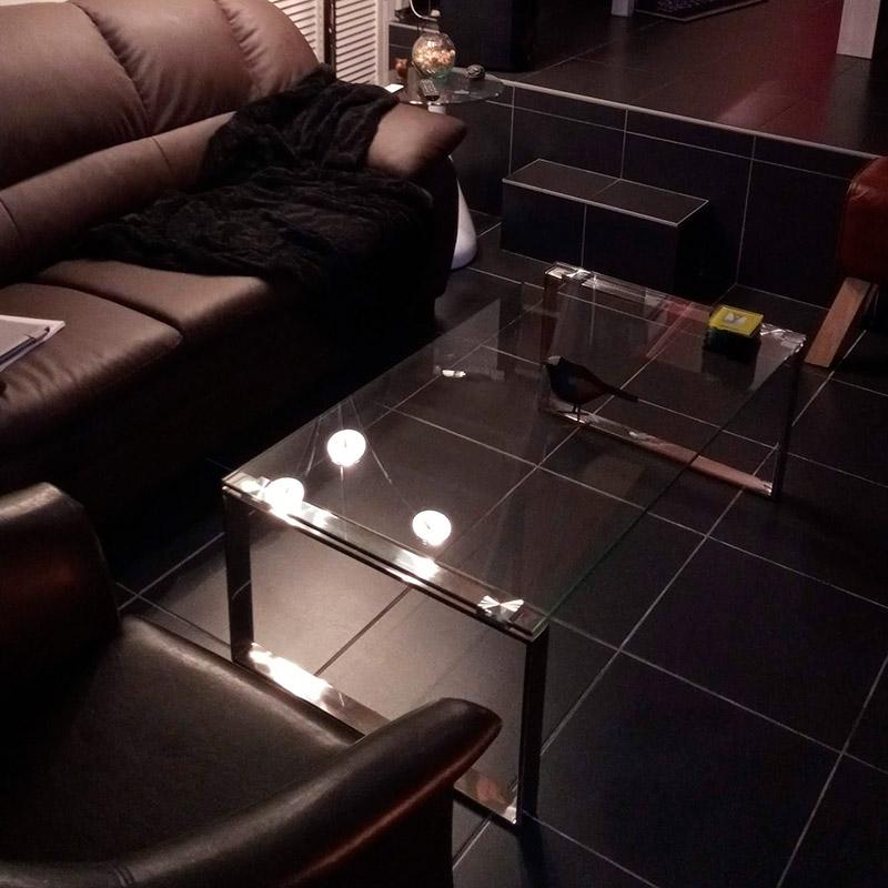 Design lage salontafel NEBRASKA - Alterego Design - Foto 4