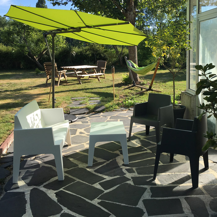 Banc de jardin PLEMO XL - Alterego Design - Photo 3