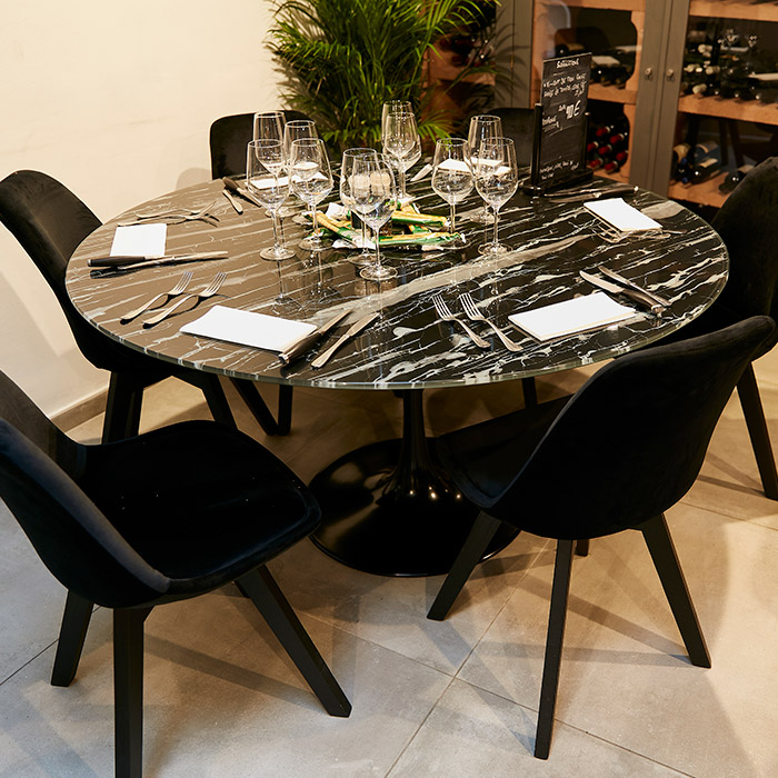 Table ronde SHADOW - Alterego Design - Photo 4