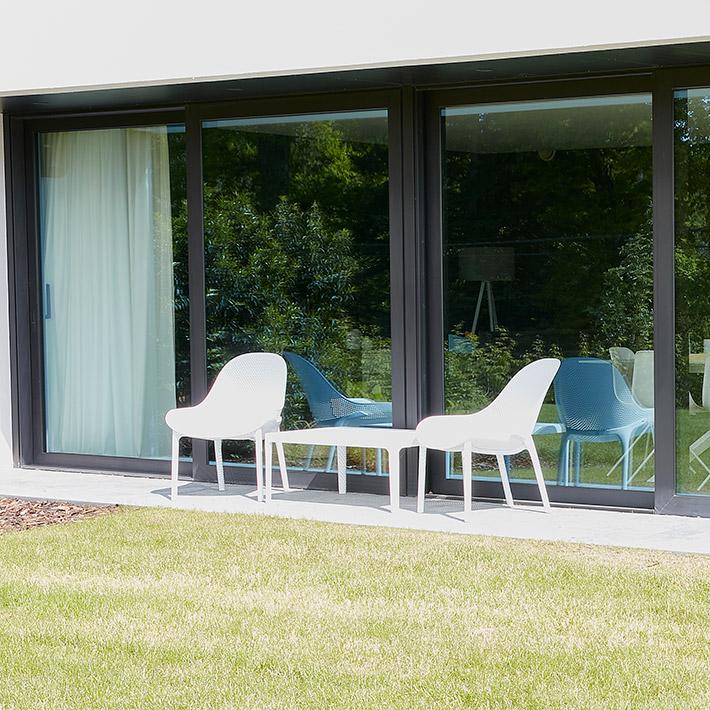 Lounge tuinzetel SILO - Alterego Design - Foto 2