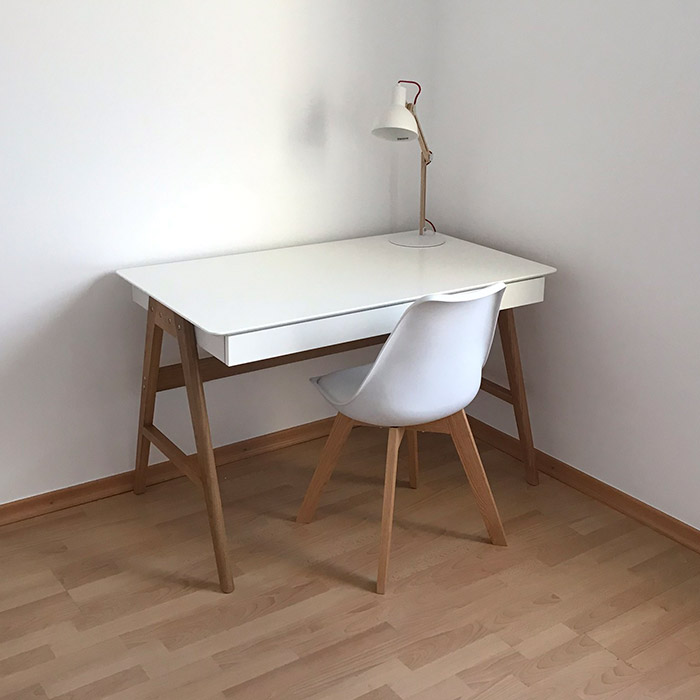 Rechte desk SIROKO - Alterego Design - Foto 4