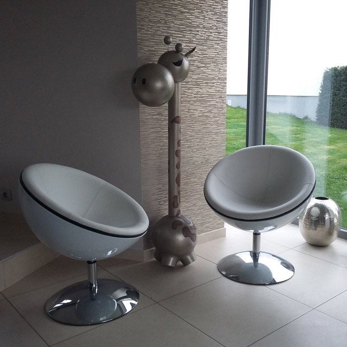 Fauteuil boule SPHERA - Alterego Design - Photo 1