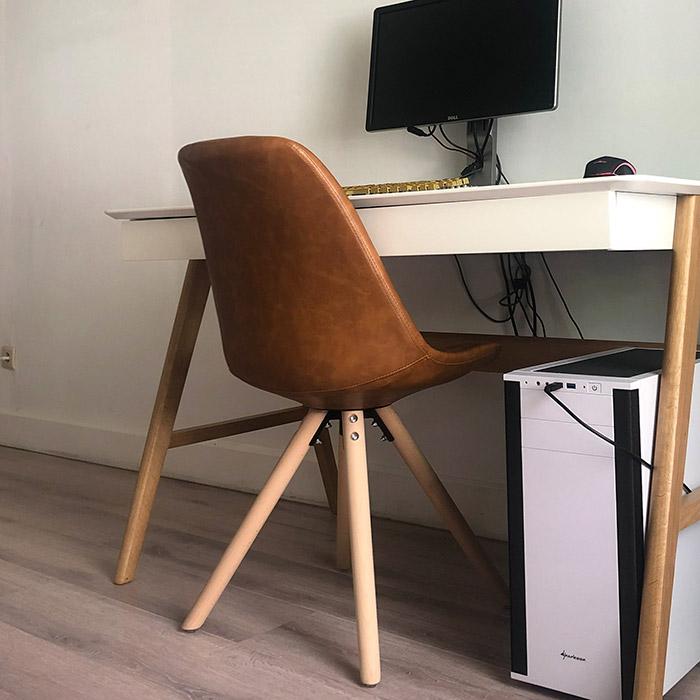 Chaise design STREET - Alterego Design - Photo 1