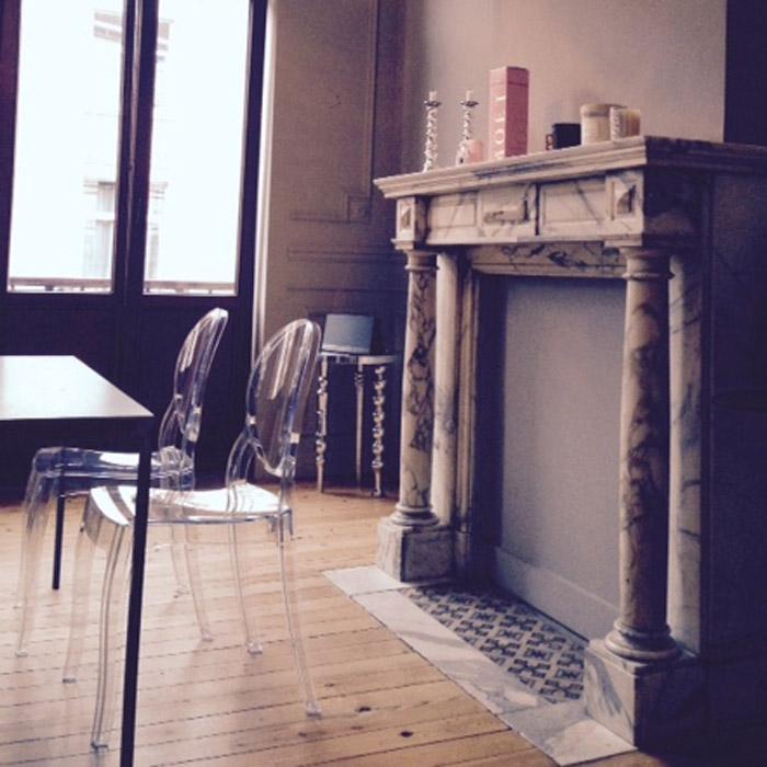 Chaise médaillon ELIZA - Alterego Design - Photo 3