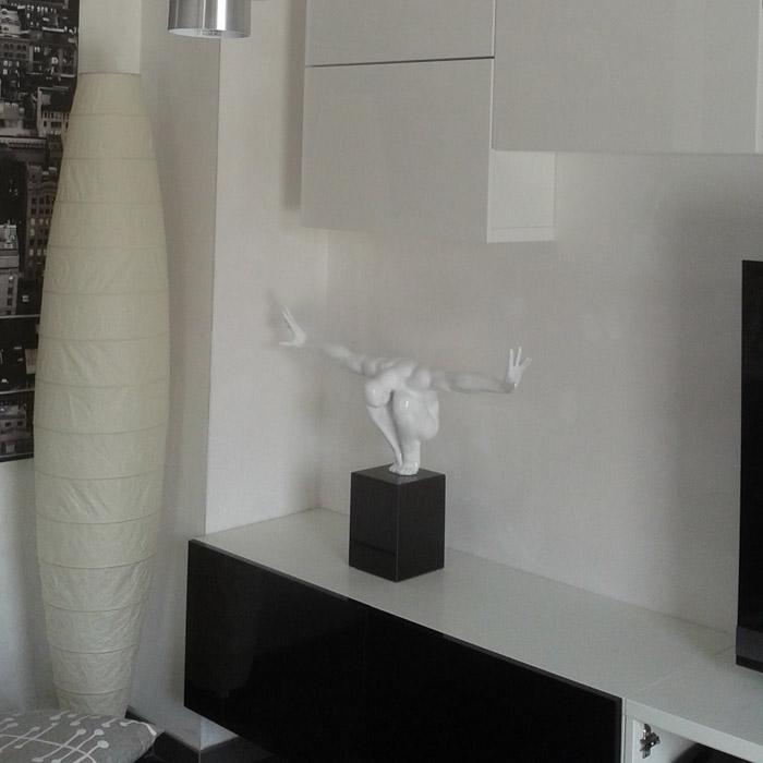 Statue déco WISE - Alterego Design - Photo 8