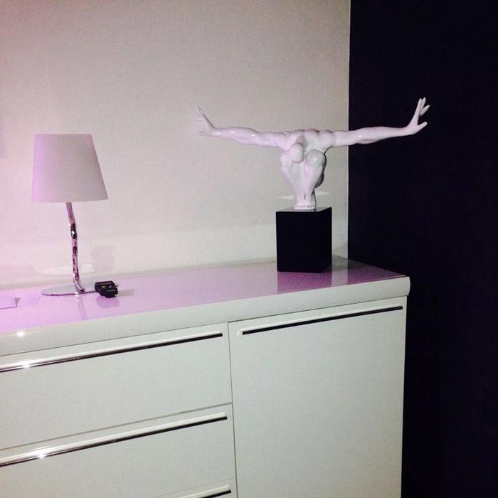 Statue déco WISE - Alterego Design - Photo 4