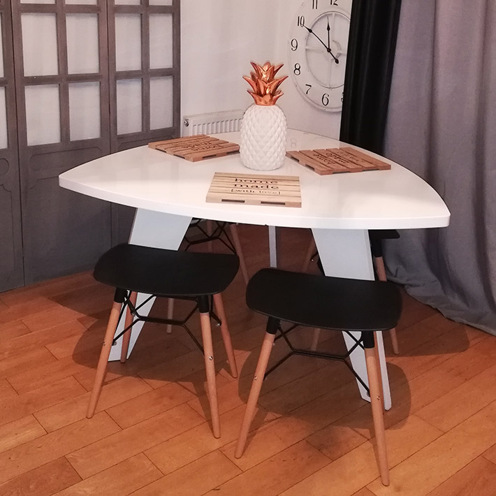 Lage kruk ALADIN - Alterego Design - Foto 2
