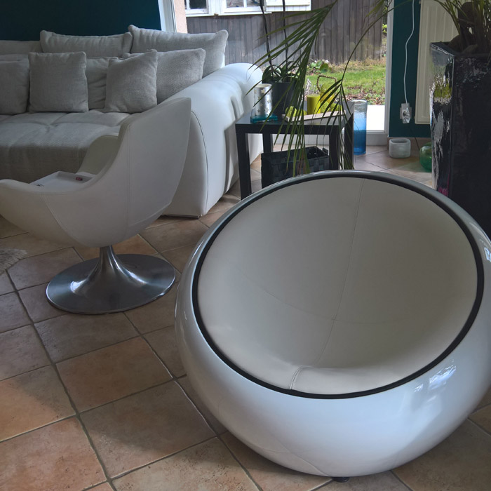 Fauteuil boule lounge ATMO - Alterego Design - Photo 6