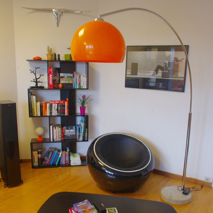 Lampadaire en arc BIG BOW XL - Photo 3