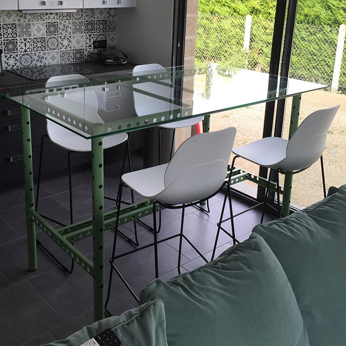 Tabouret de bar BERLIN - Alterego Design - Photo 5