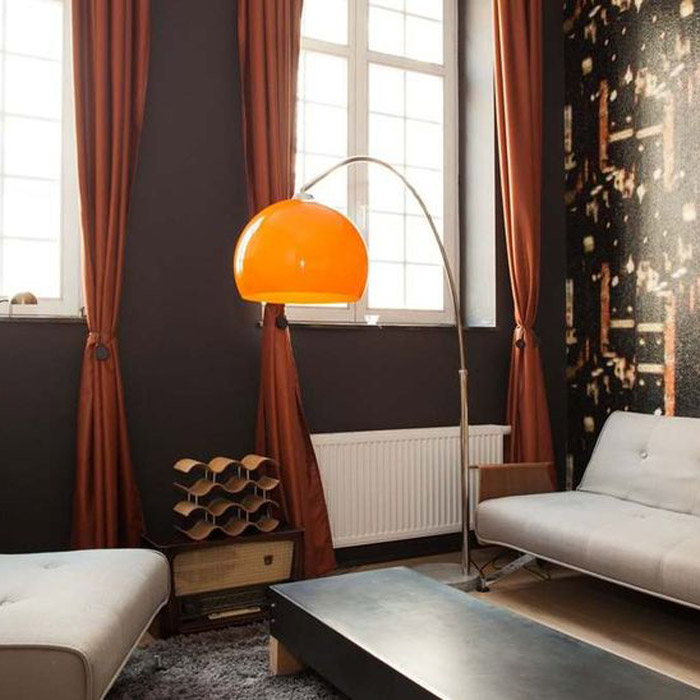 Lampadaire en arc BIG BOW SMALL - Alterego Design - Photo 3
