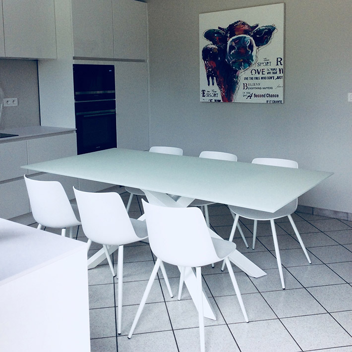 Table de salle à manger BIRDY - Alterego Design - Photo 1