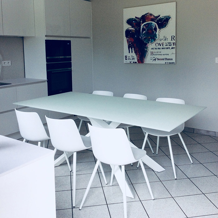 Table de salle à manger BIRDY - Alterego Design - Photo 4