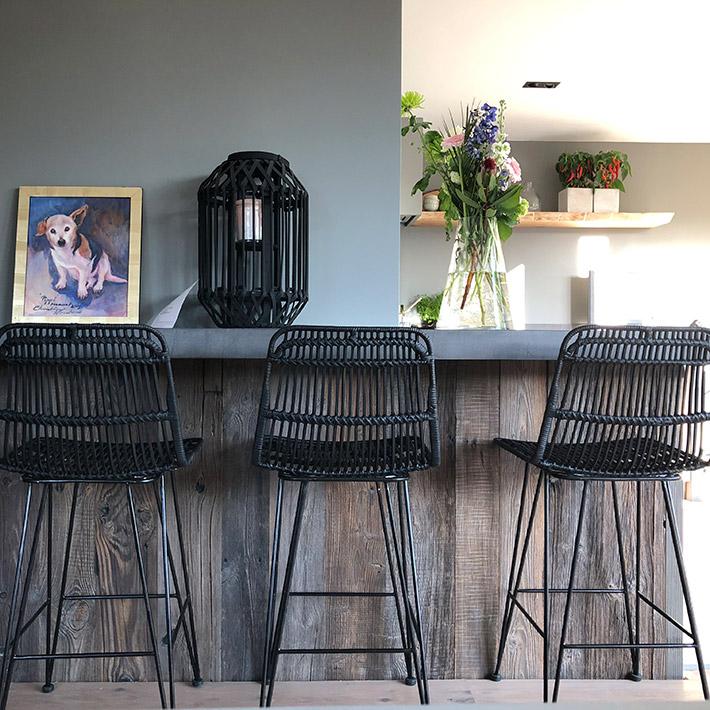 Tabouret de bar BOCADIA - Alterego Design - Photo 1