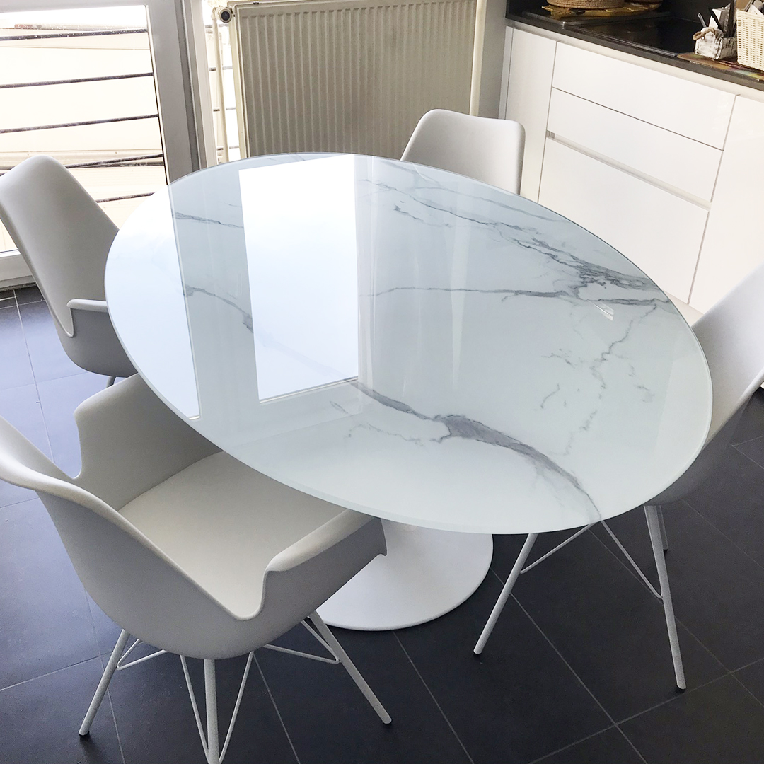 Ovalen eettafel CHAMAN - Alterego Design - Foto 1