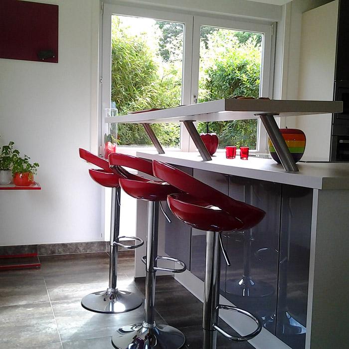 COMET verstelbare kruk - Alterego Design - Foto 3