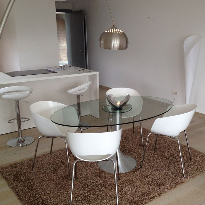 Lampadaire en arc XXL - Alterego Design - Photo 4
