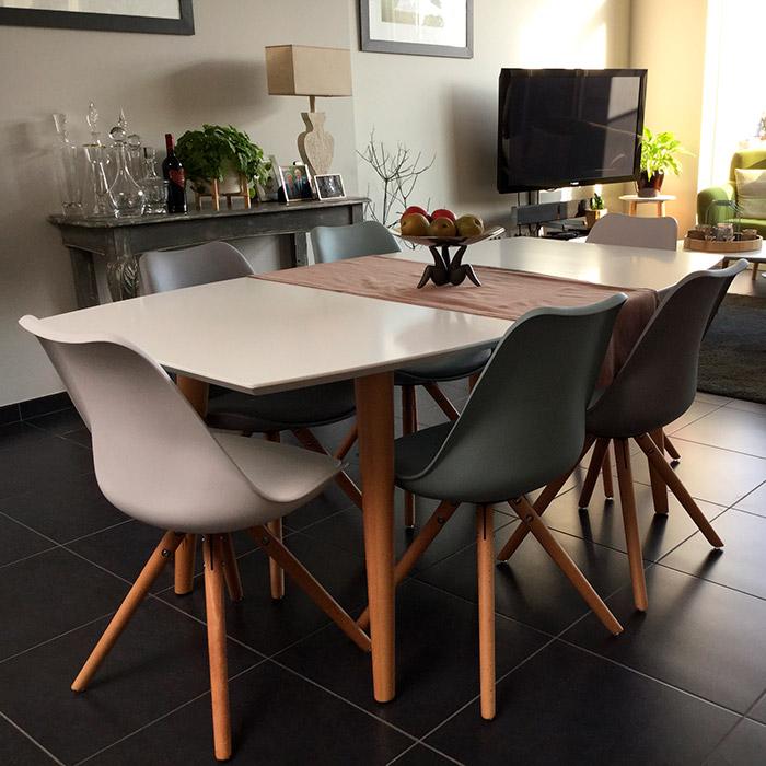 Table de salle à manger ESKIMO - Alterego Design - Photo 3