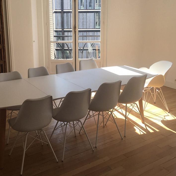 Table de salle à manger ESKIMO - Alterego Design - Photo 8