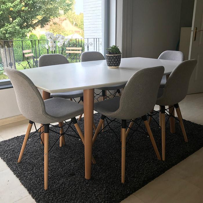 Table de salle à manger ESKIMO - Alterego Design - Photo 1