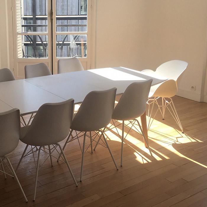 Table de salle à manger ESKIMO - Alterego Design - Photo 2