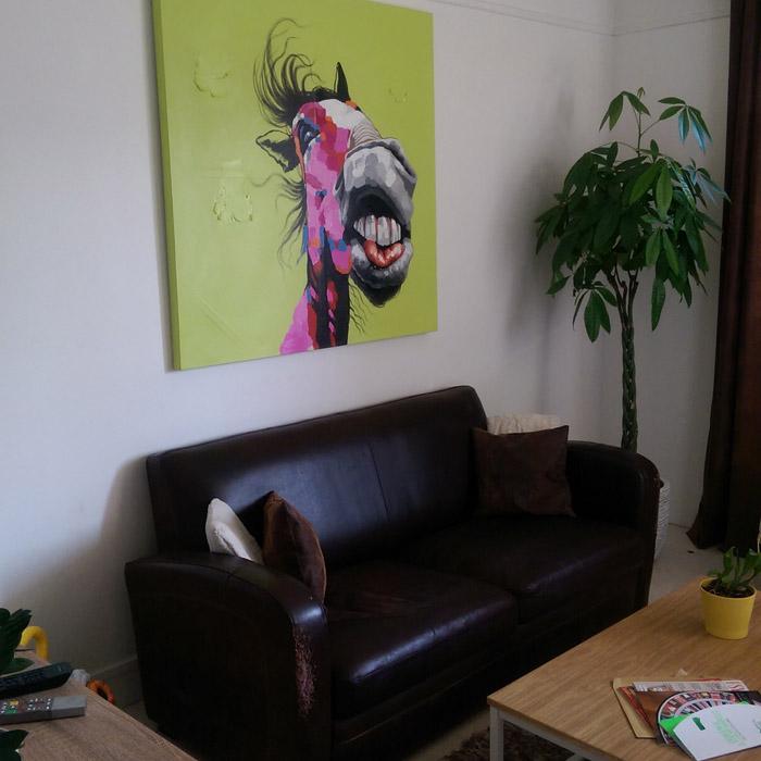 HORSE schilderij - Alterego Design - Foto 1