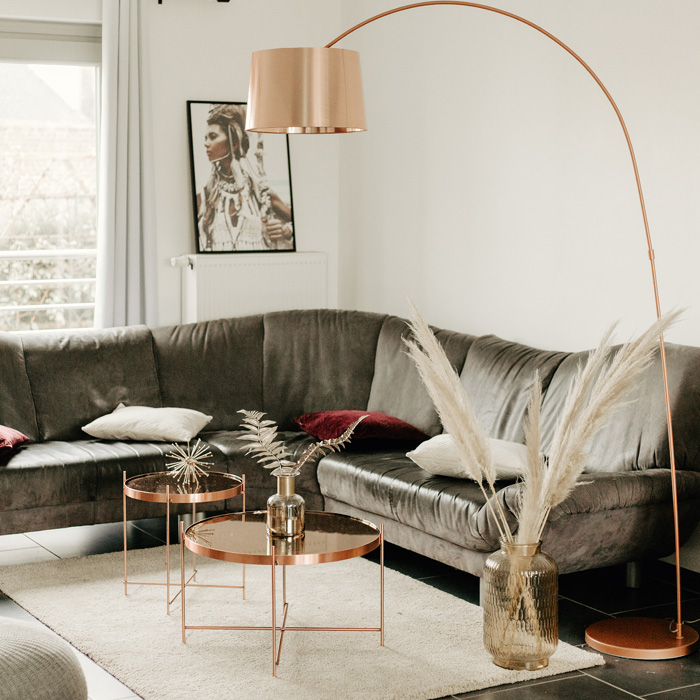 Lampadaire arc KALIPSO - Alterego Design - Photo 2