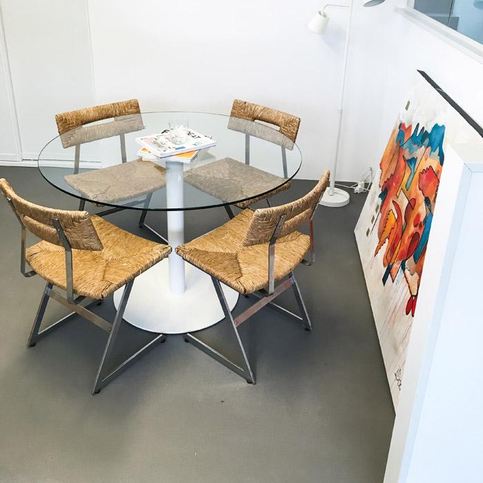 Table de cuisine ronde KIKI - Alterego Design - Photo 1