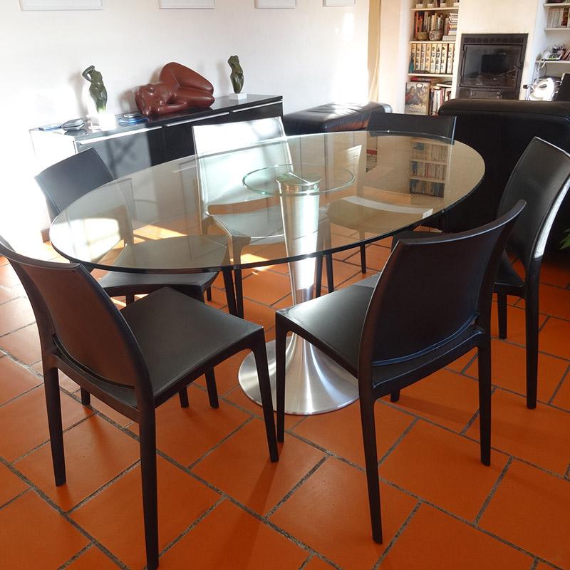 Table à dîner KRYSTAL - Alterego Design - Photo 8