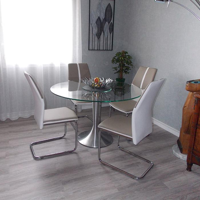 Table à dîner ronde MASKARA - Alterego Design - Photo 3