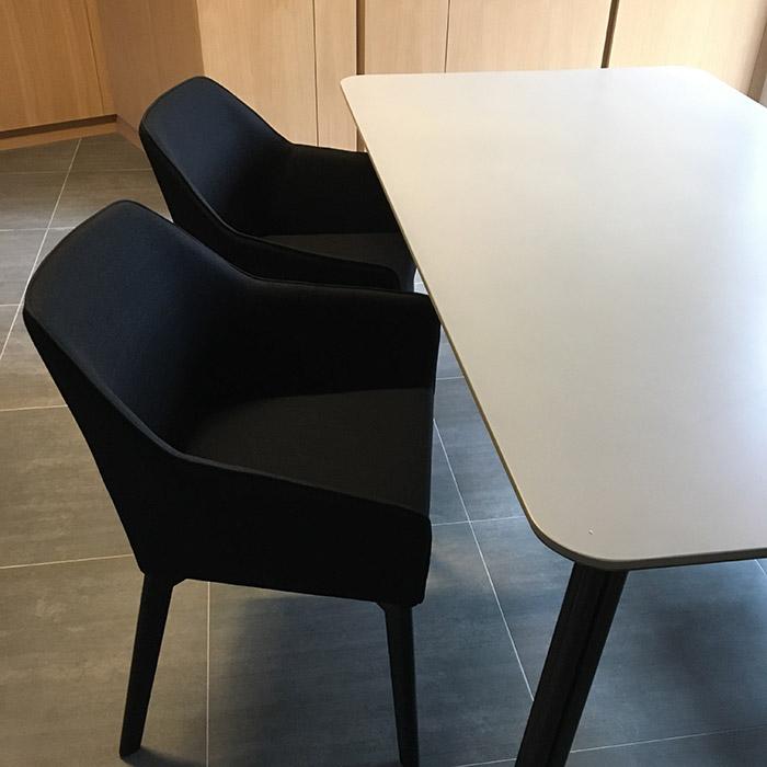 Chaise avec accoudoirs NANO - Alterego Design - Photo 6