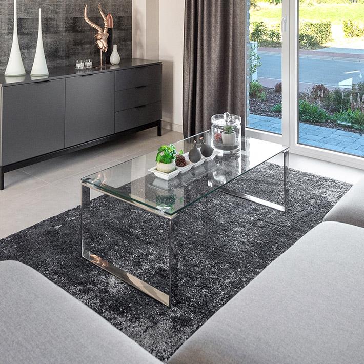 Design lage salontafel NEBRASKA - Alterego Design - Foto 2