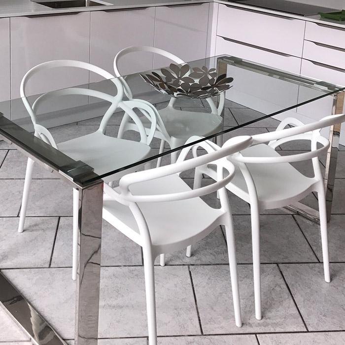 Bureau droit ou table à diner NEVADA - Alterego Design - Photo 2